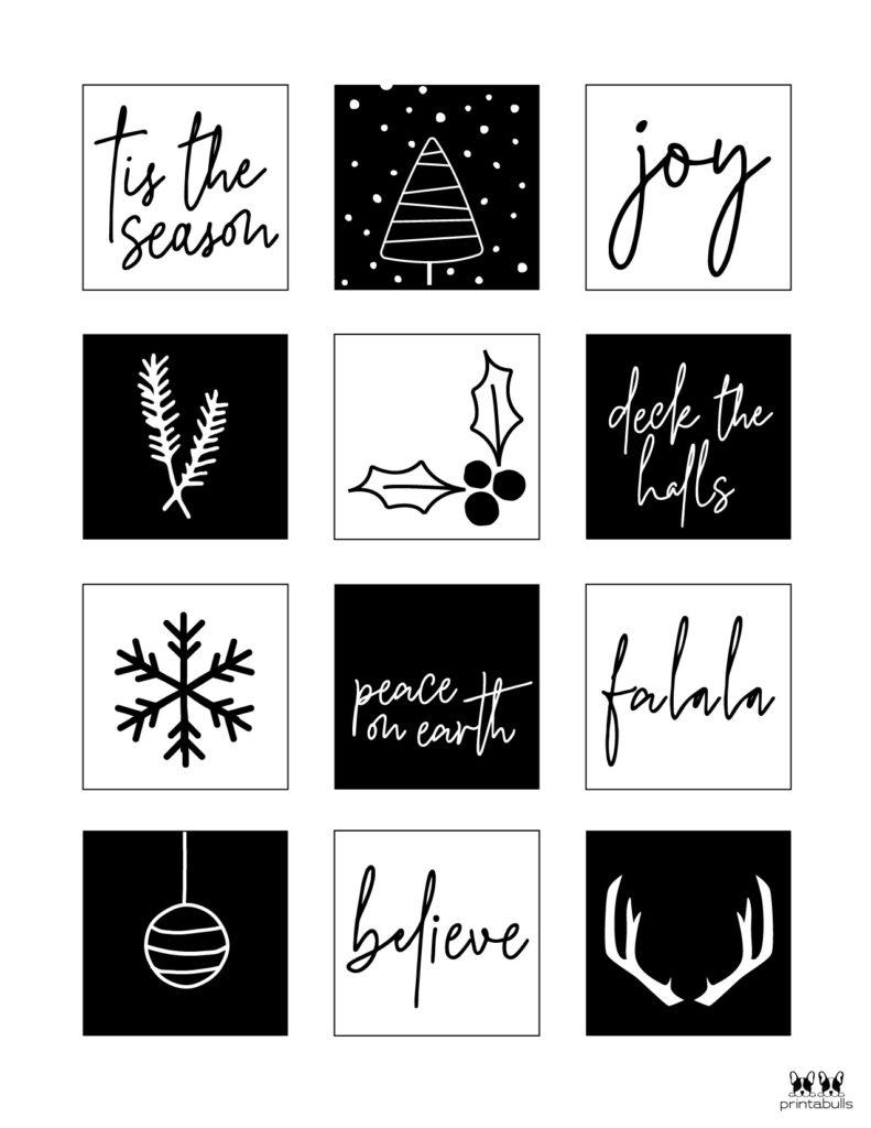 Printable Christmas Gift Tags_Page 5
