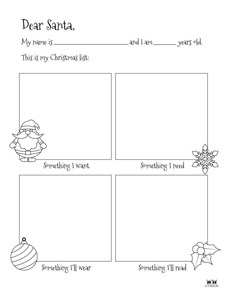 Printable Dear Santa Letter Template-Page 13-