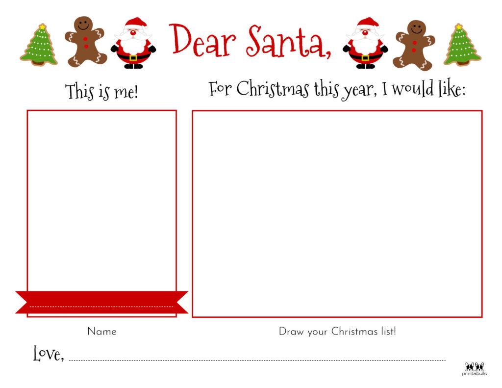 Printable Dear Santa Letter Template-Page 20