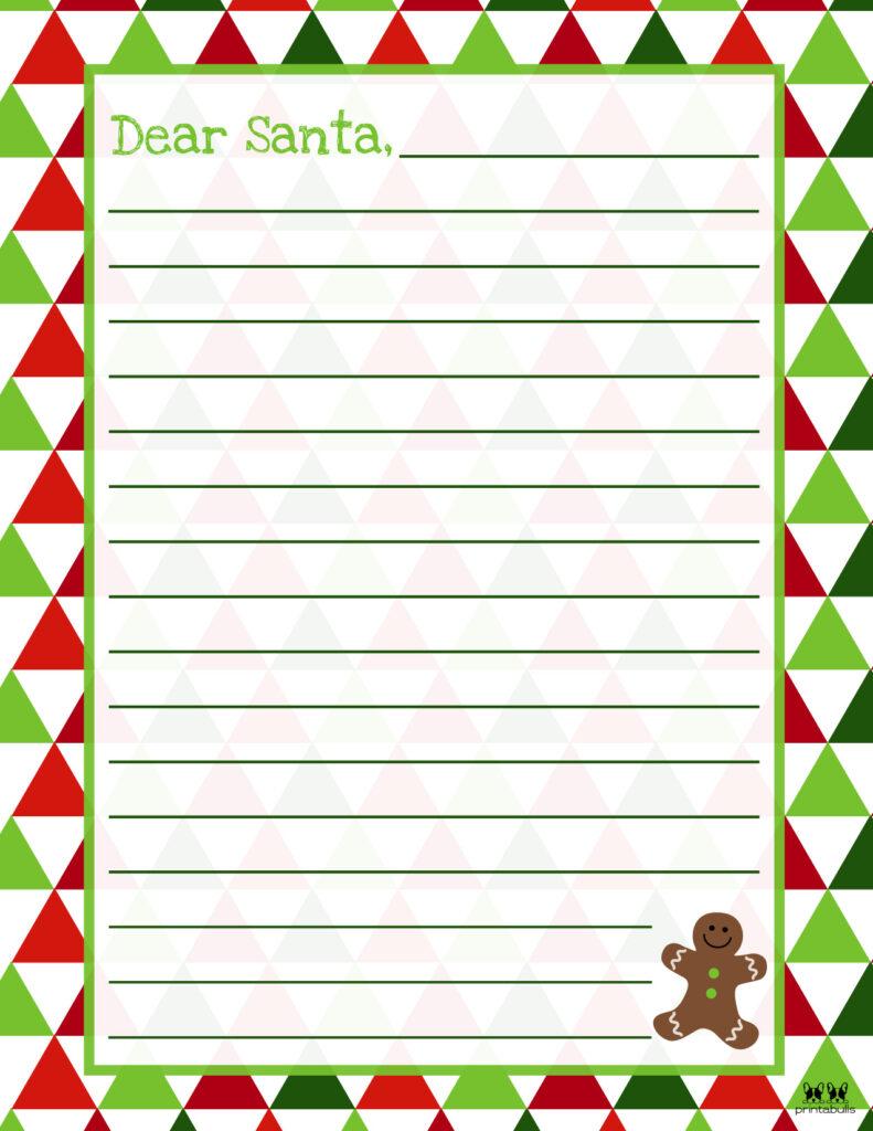 Printable Dear Santa Letter Template-Page 24