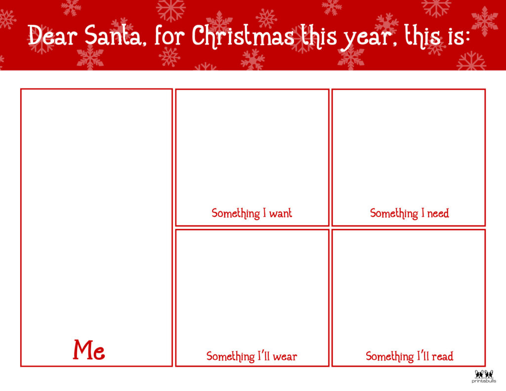 Printable Dear Santa Letter Template-Page 9