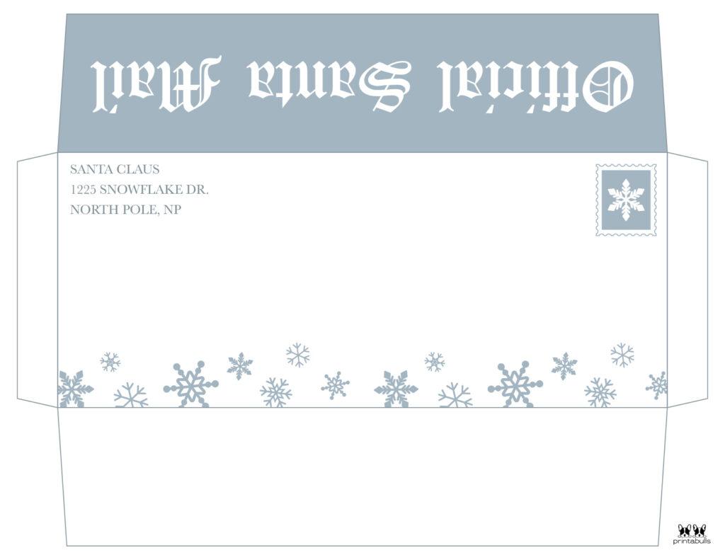 Printable Santa Envelope Template-Page 10