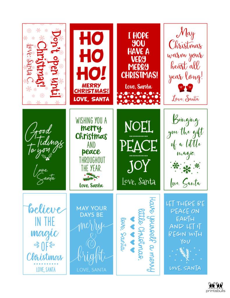 Printable Santa Gift Tags-Page 5