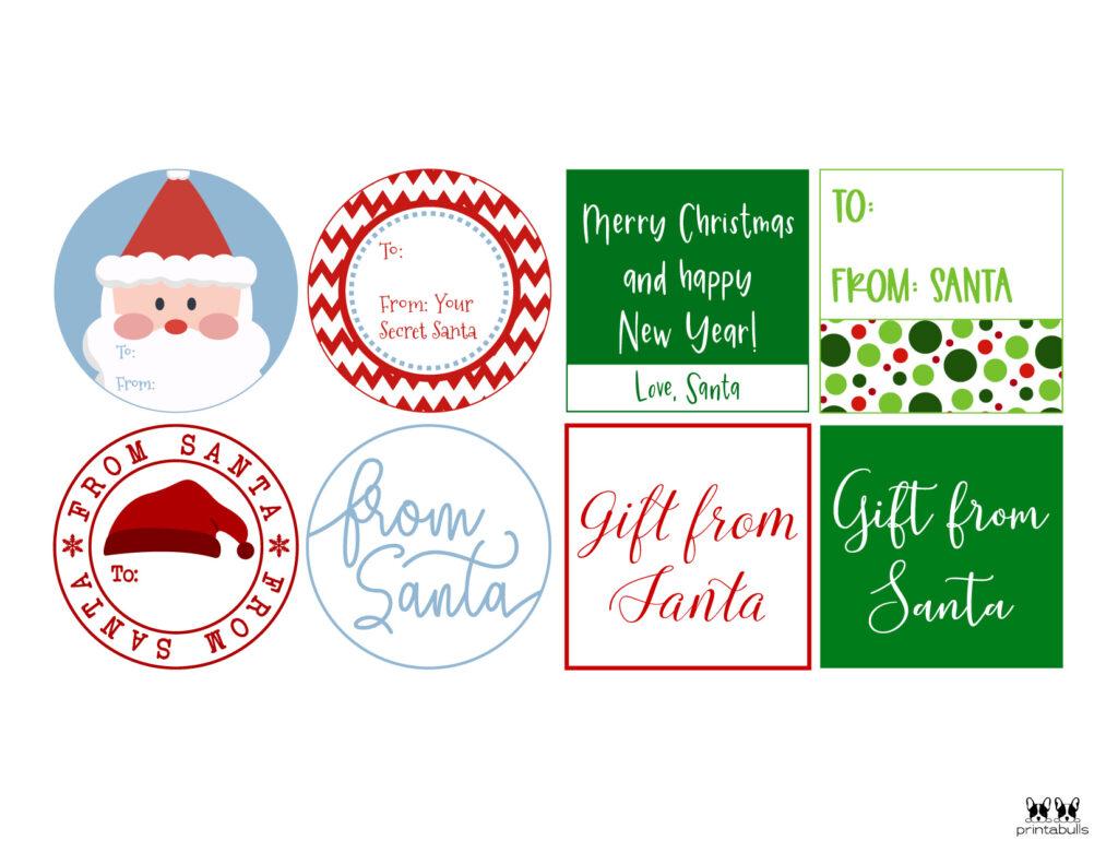 Printable Santa Gift Tags-Page 7