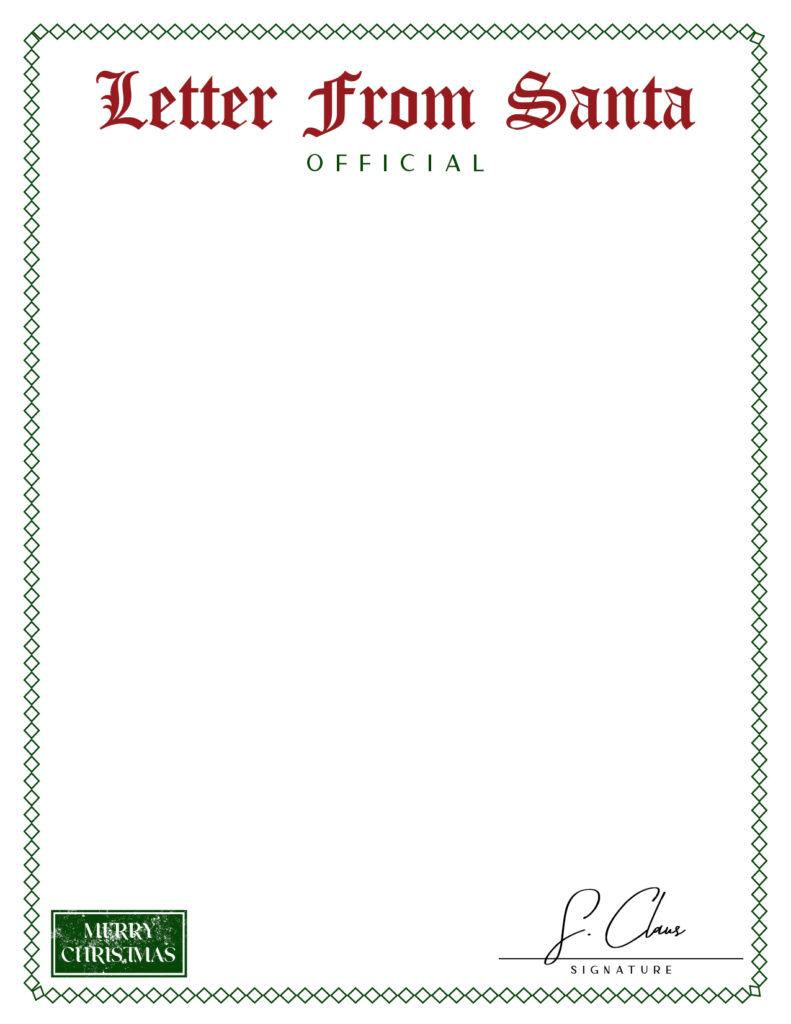 Printable Santa Letterhead-Page 11