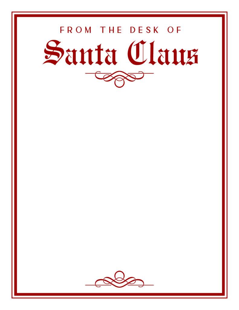 Printable Santa Letterhead-Page 3
