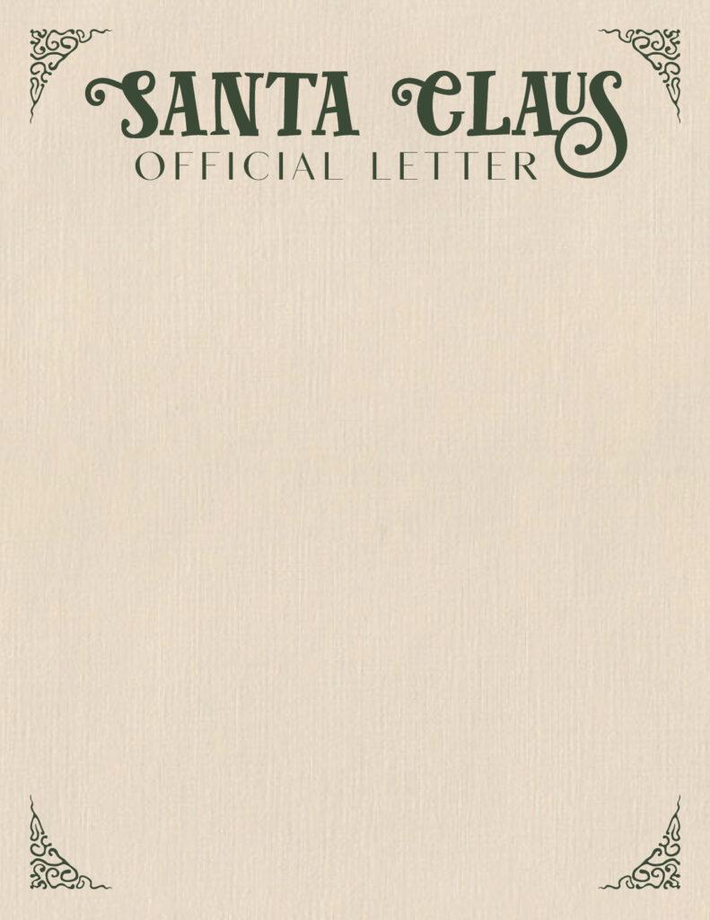 Printable Santa Letterhead-Page 4