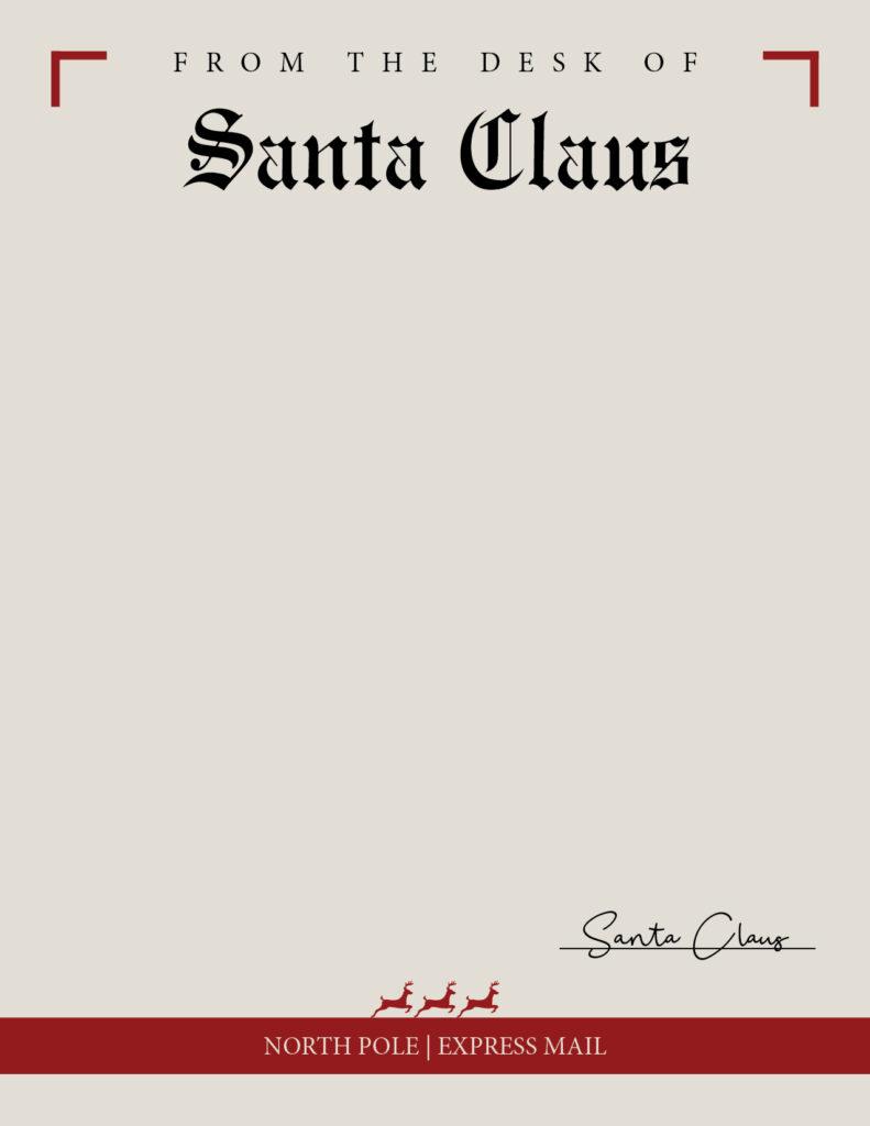 Printable Santa Letterhead-Page 8