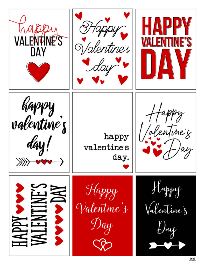 Printable Valentine's Day Cards-Page 9