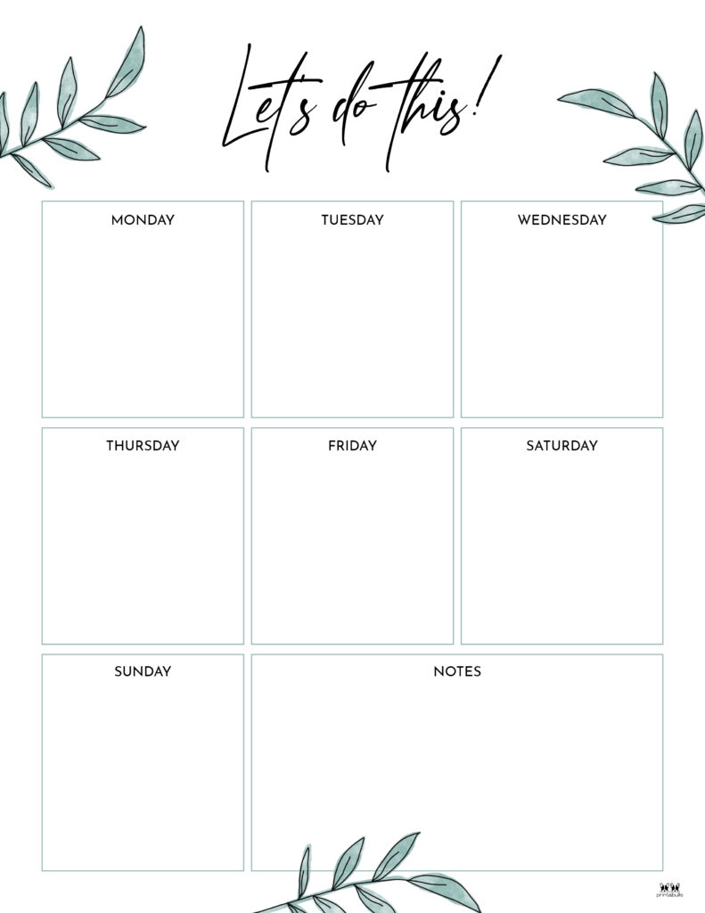 Printable Weekly To Do List-Page 13.1