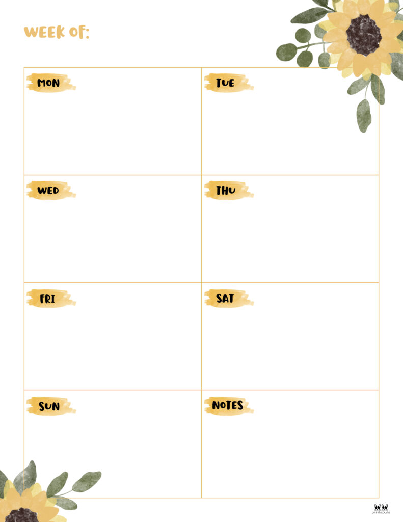 Printable Weekly To Do List-Page 7