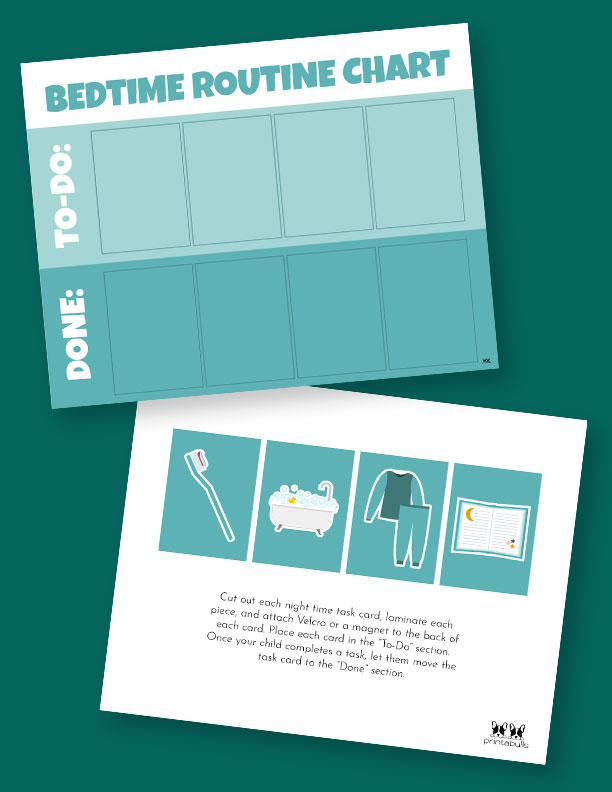Printable-Bedtime-Routine-Charts-1