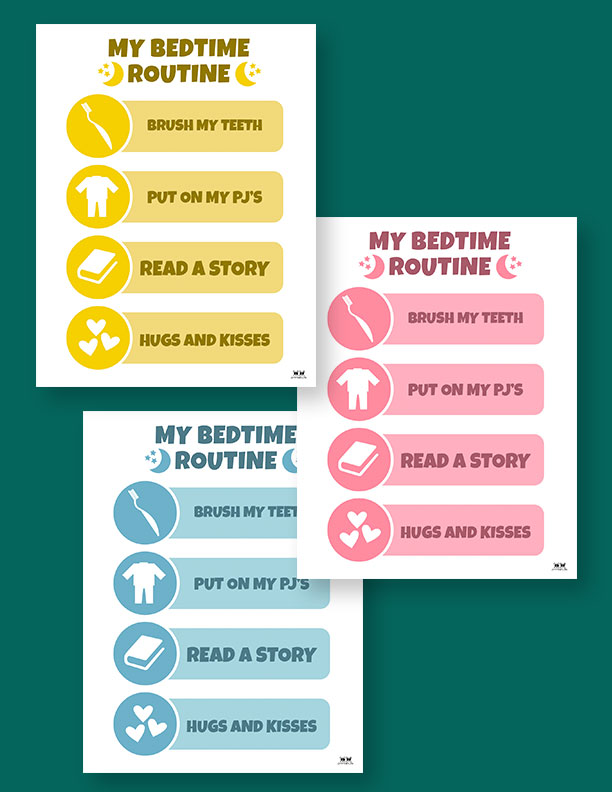 Printable-Bedtime-Routine-Charts-11
