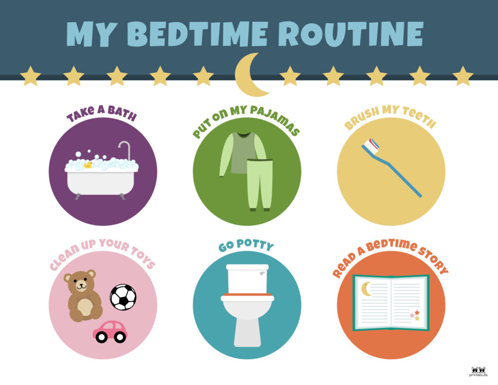 Printable-Bedtime-Routine-Charts-12