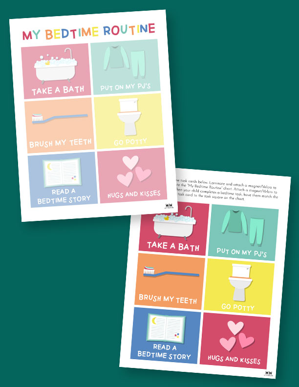 Printable-Bedtime-Routine-Charts-2