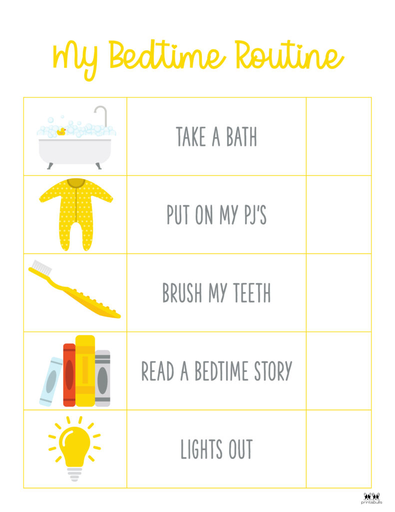 Printable-Bedtime-Routine-Charts-3