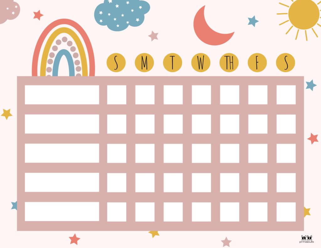 Printable Toddler Chore Chart-13