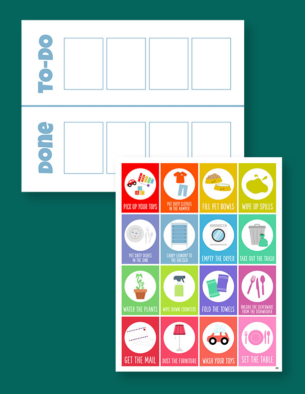 Printable Toddler Chore Chart-3