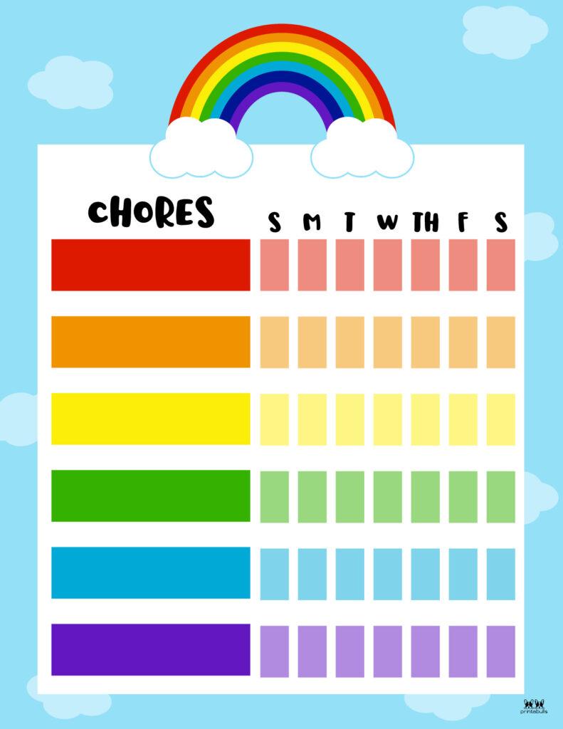 Printable Toddler Chore Chart-5