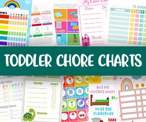 printable toddler chore charts