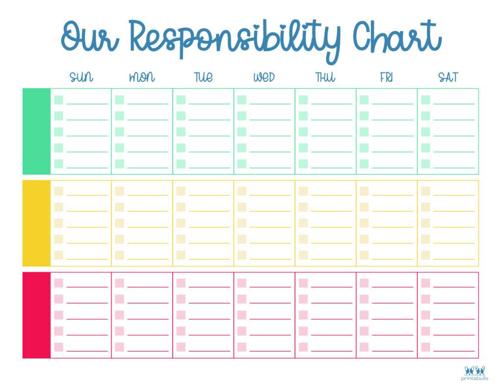 Printable Multiple Children Chore Chart-8