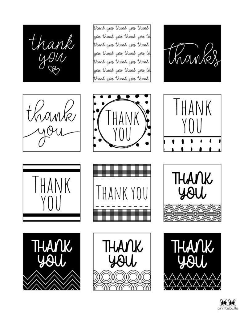 Printable Thank You Tags-Page 10