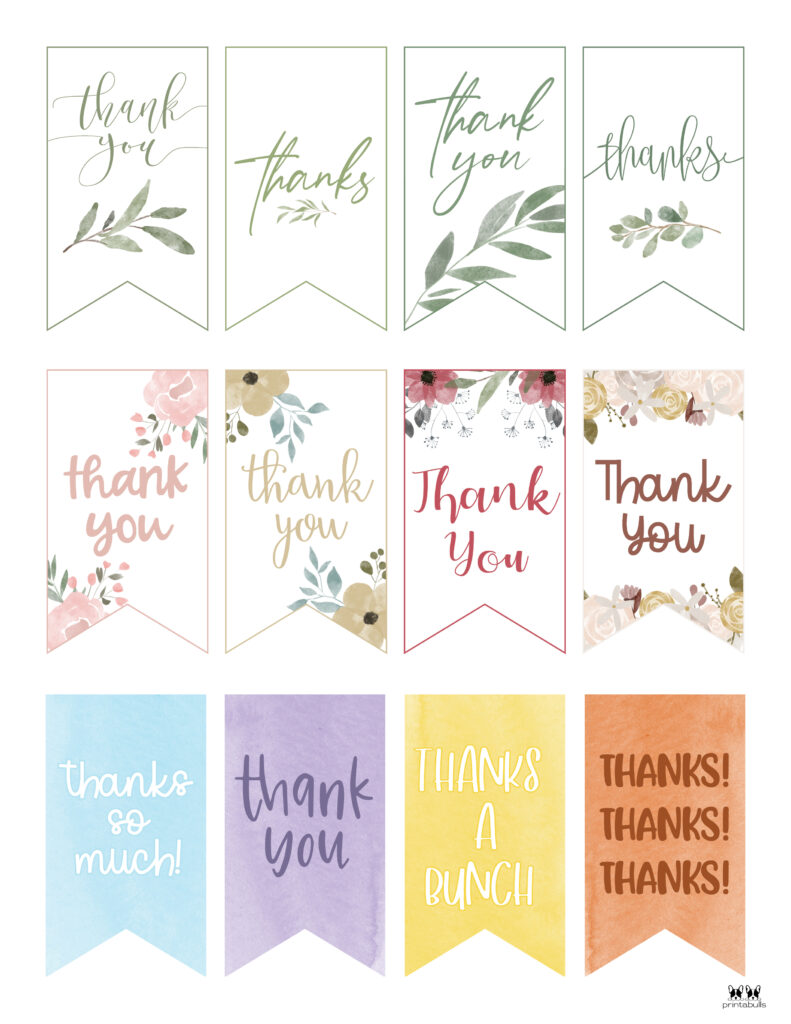 Printable Thank You Tags-Page 11