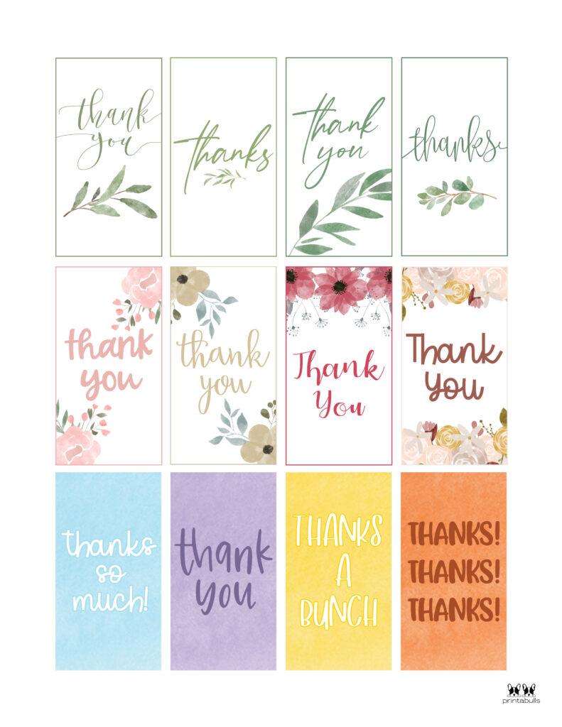 Printable Thank You Tags-Page 13