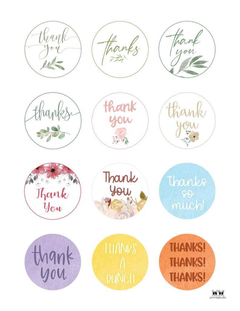 Printable Thank You Tags-Page 14