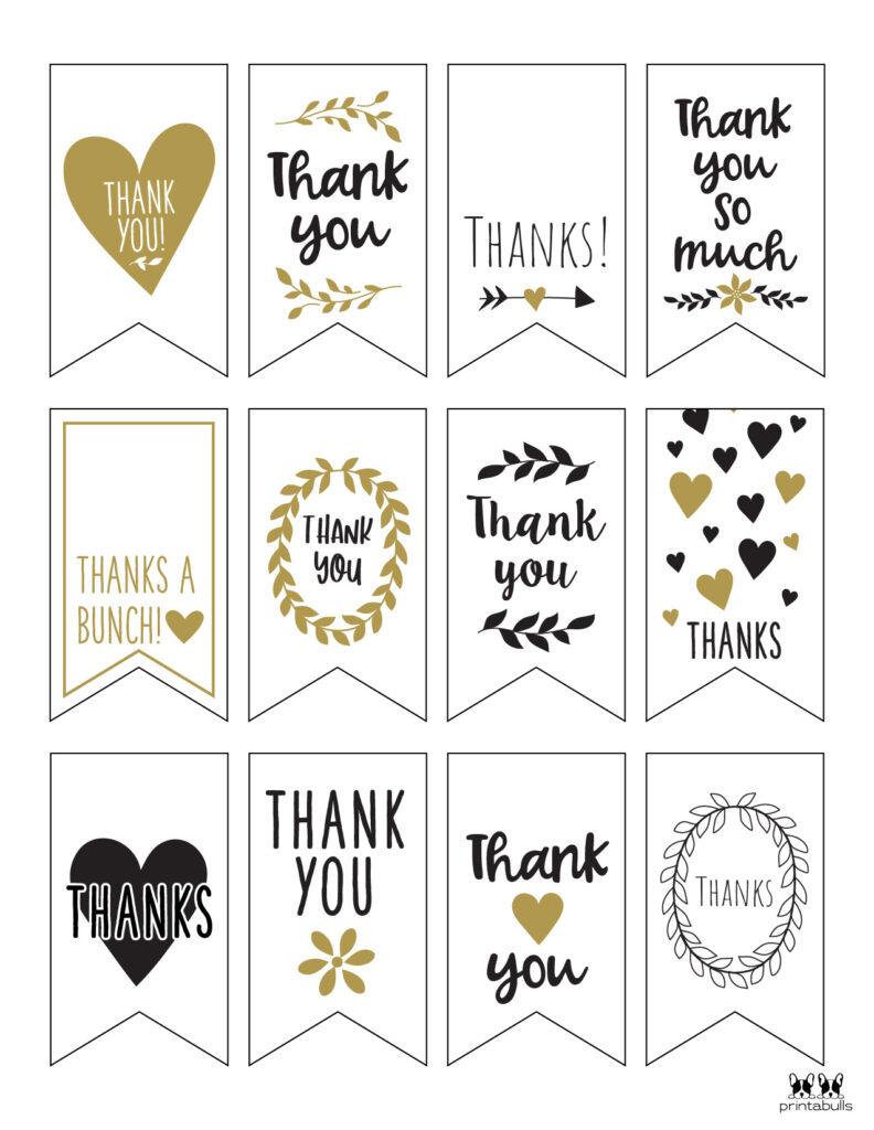 Printable Thank You Tags-Page 17
