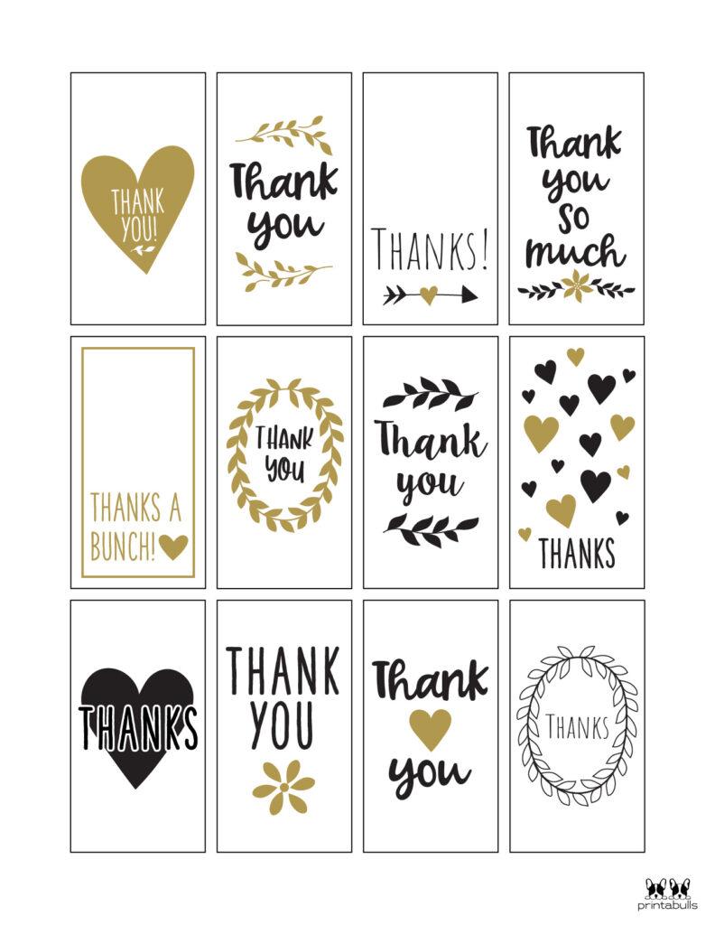 Printable Thank You Tags-Page 18