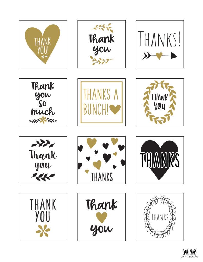 Printable Thank You Tags-Page 20