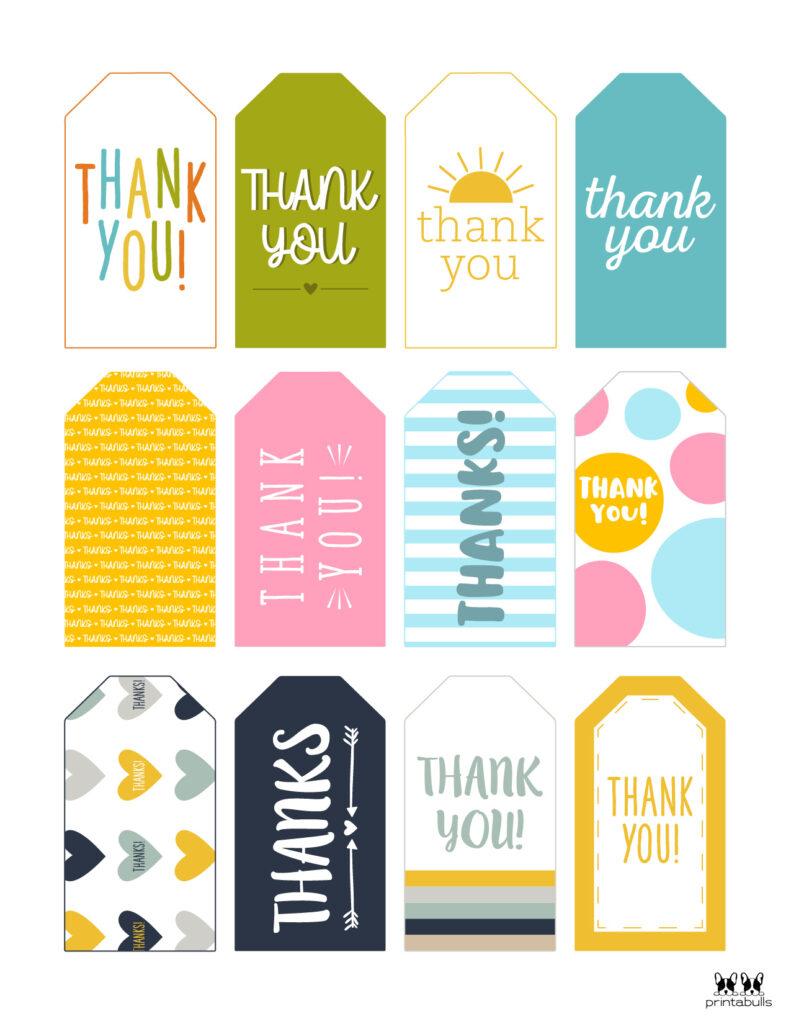 Printable Thank You Tags-Page 21