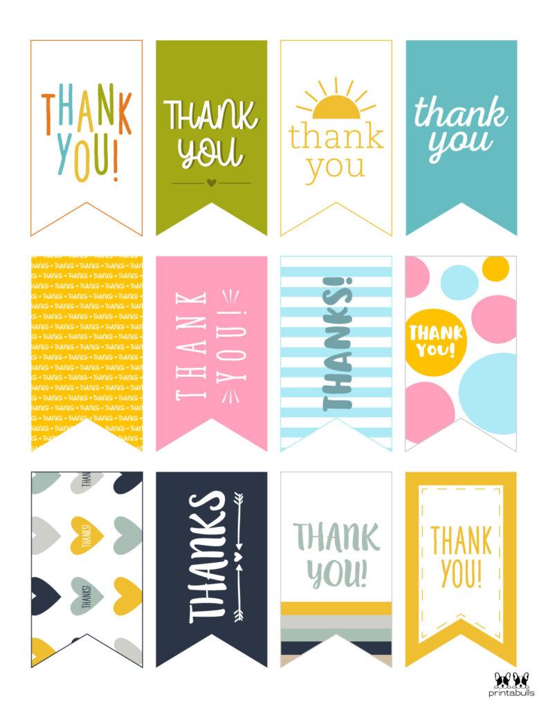 Printable Thank You Tags-Page 22