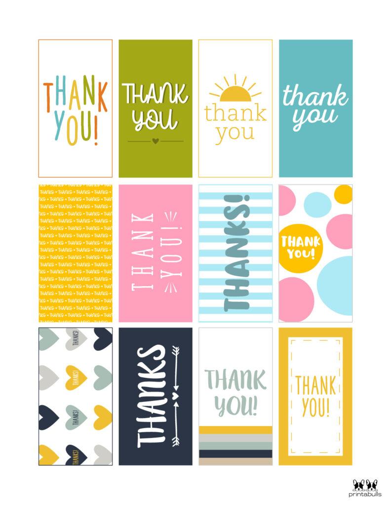 Printable Thank You Tags-Page 23