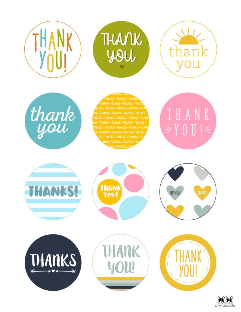 Printable Thank You Tags-Page 24