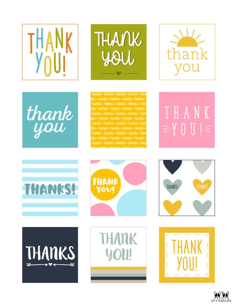 Printable Thank You Tags-Page 25