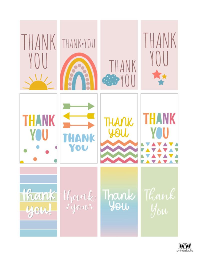 Printable Thank You Tags-Page 3