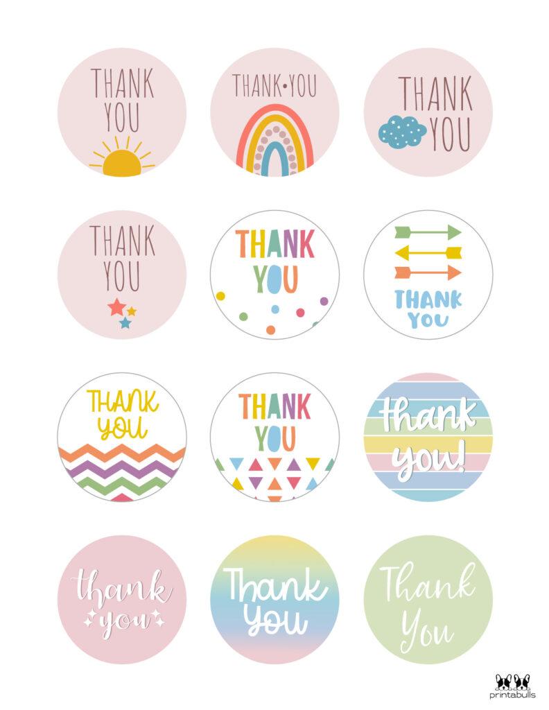 Printable Thank You Tags-Page 4
