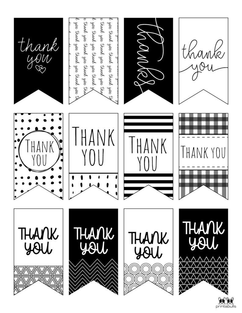 Printable Thank You Tags-Page 7