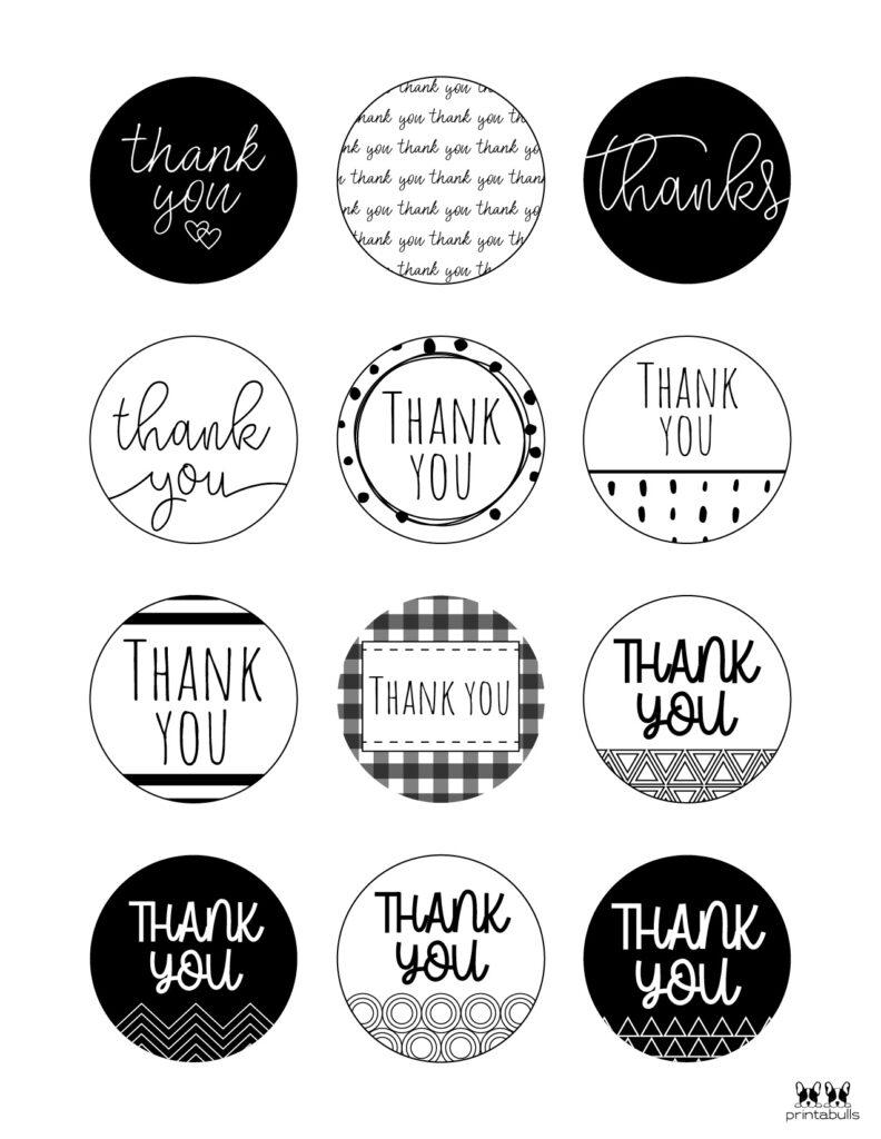 Printable Thank You Tags-Page 9