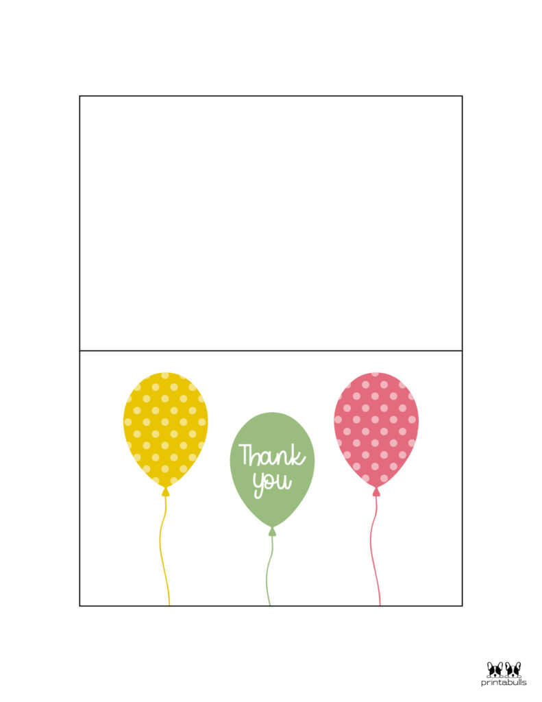 Printable Birthday Thank You Cards-Page 3