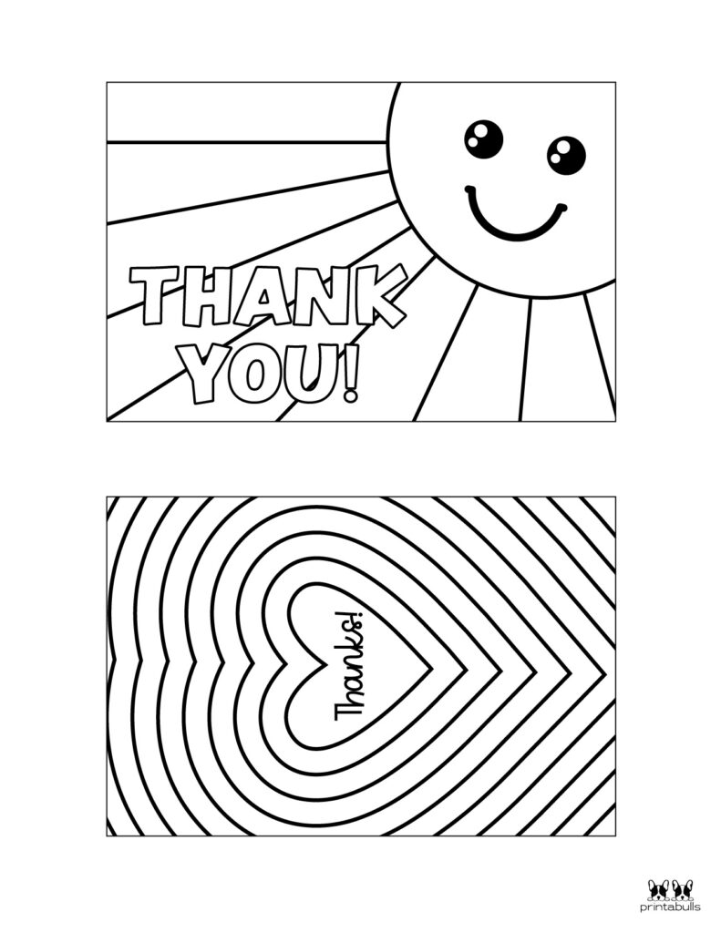 Printable Colorable Thank You Cards-Page 3