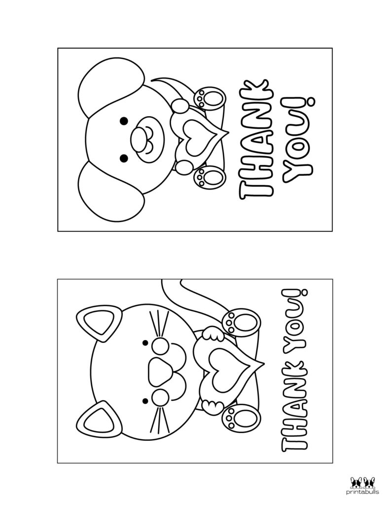 Printable Colorable Thank You Cards-Page 4