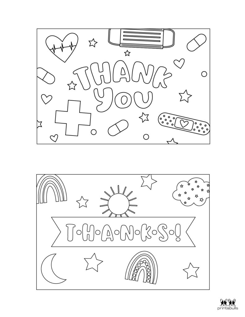 Printable Colorable Thank You Cards-Page 5
