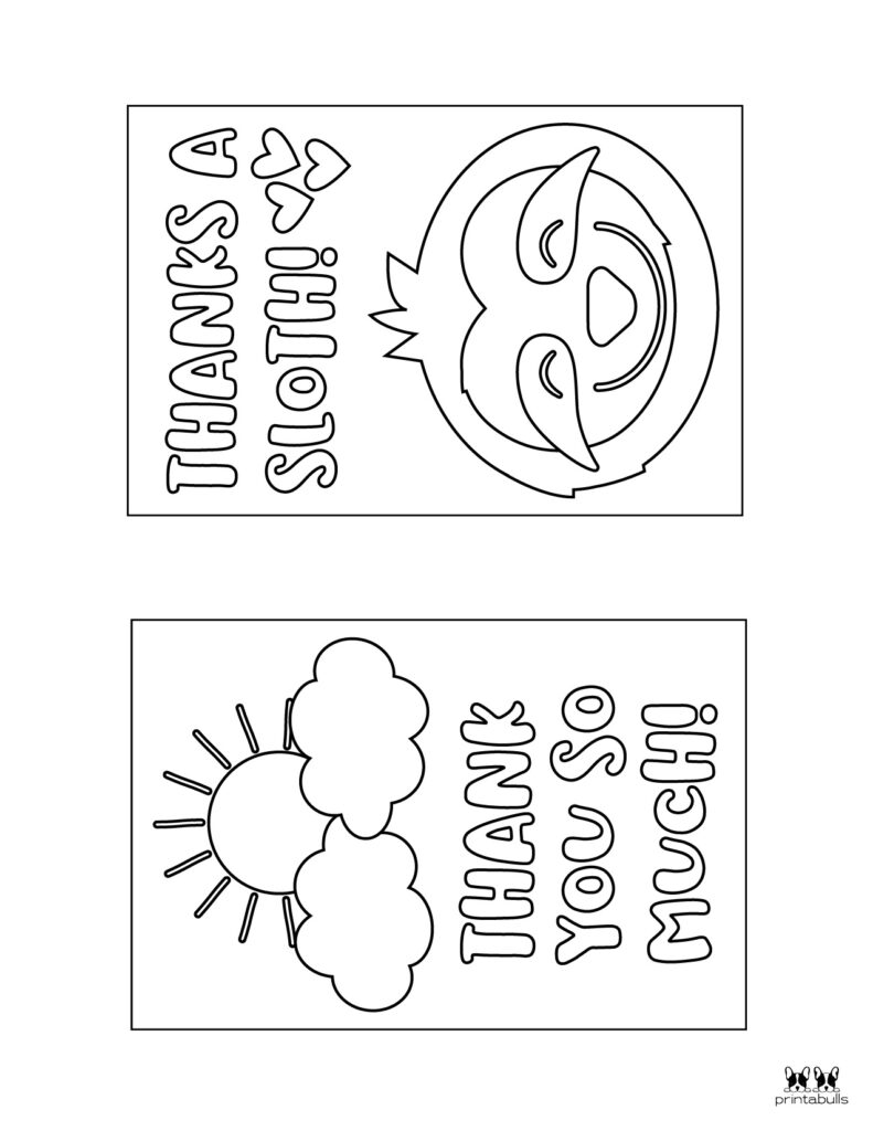 Printable Colorable Thank You Cards-Page 7