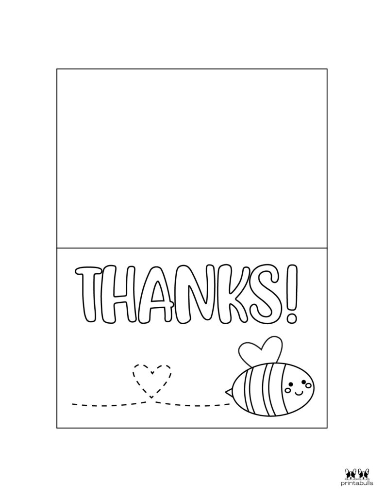 Printable Colorable Thank You Cards-Page 8