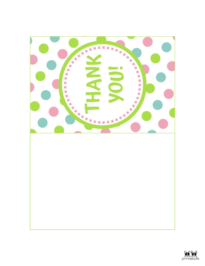 Printable Foldable Thank You Cards-Page 10