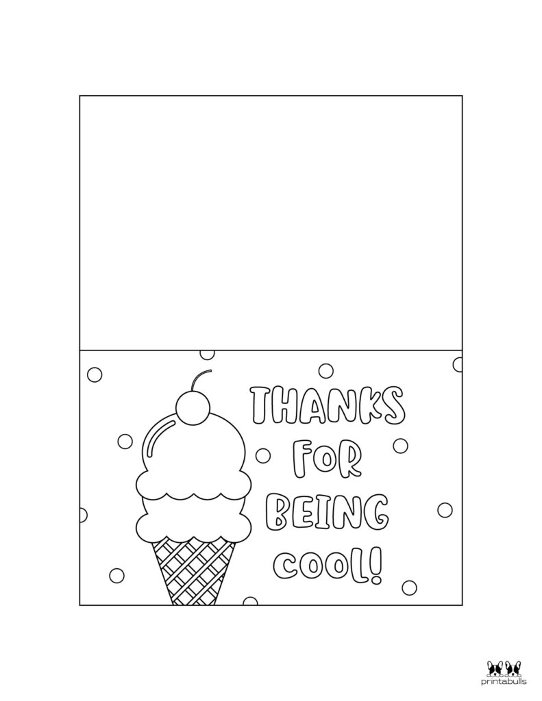 Printable Foldable Thank You Cards-Page 2