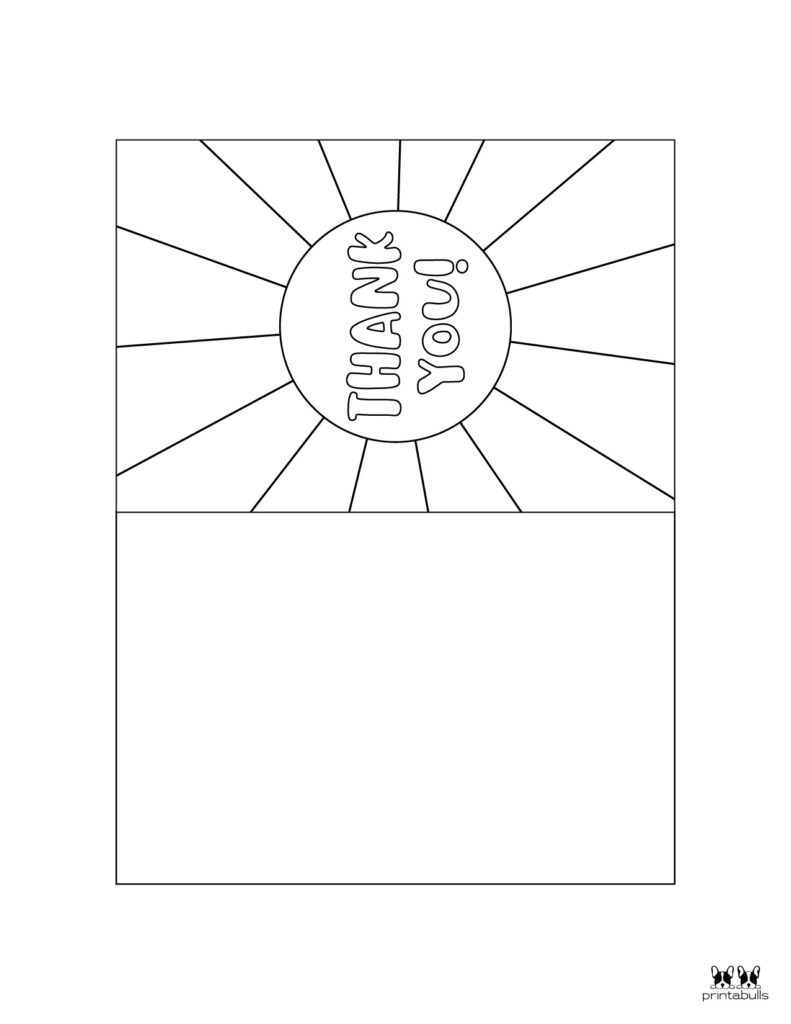Printable Foldable Thank You Cards-Page 3